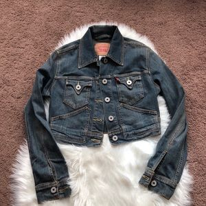 Levi's Crop jean jacket